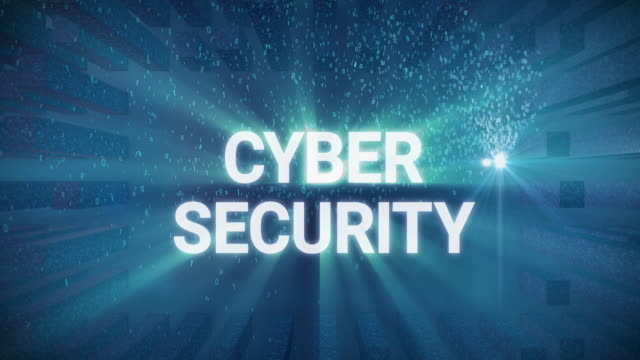 Digital Concept Cyber Security – Video