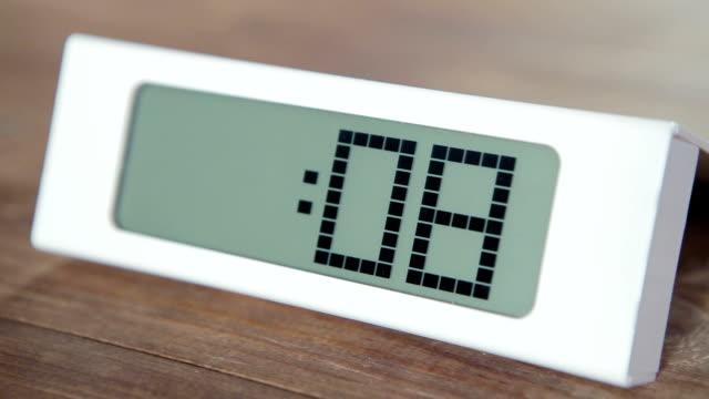 Digital Countdown Clock video