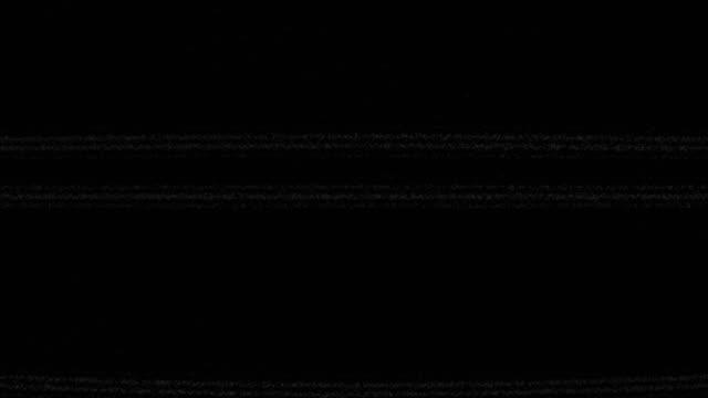 Digital Damage Noise - 4K Resolution video