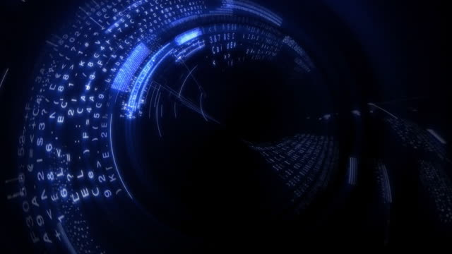 digital data screen video