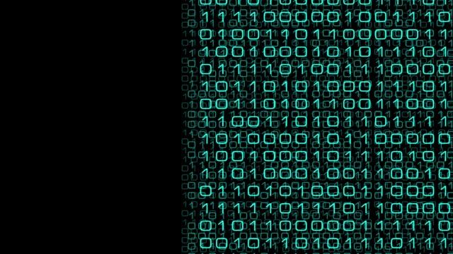 digital database transformation, big data analytics - apprendimento automatico video stock e b–roll
