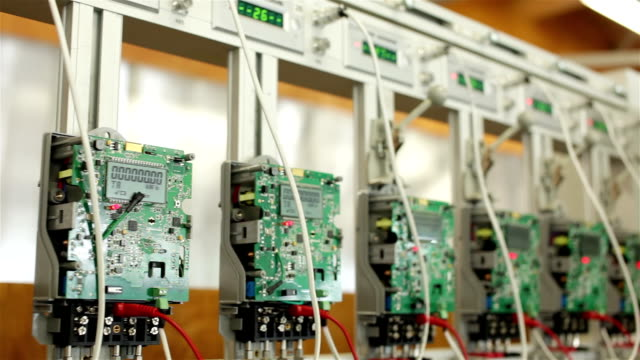Digital electricity meters video