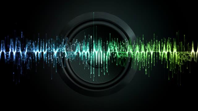 デジタルイコライザ - 音波点の映像素材/bロール