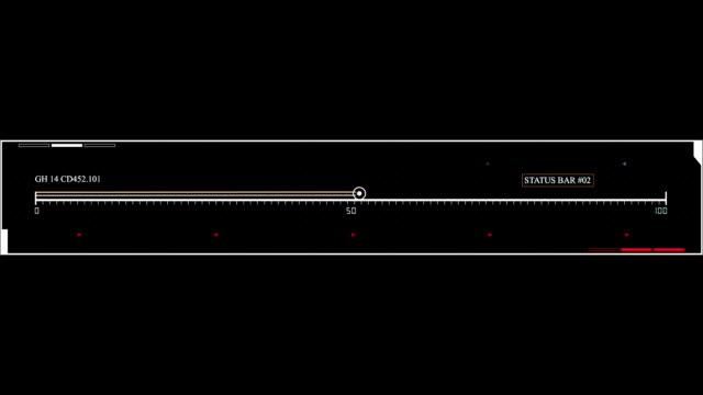 Digital futuristic hud FUI grids video