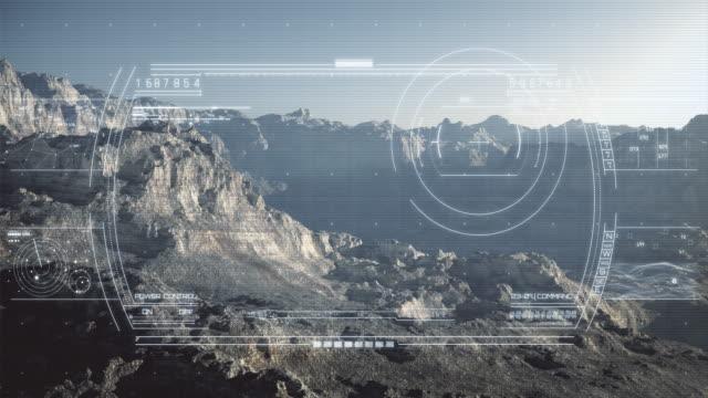 capi-up digitale display/4 k - geografia fisica video stock e b–roll