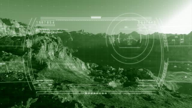 Digital Heads-up Display - Night Vision | 4K video