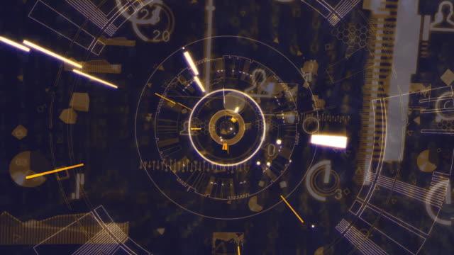 vidéos et rushes de numérique à l'intérieur de l'ordinateur - cadran