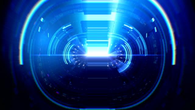 Digital Interface B Blue video