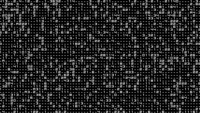 interfaccia digitale - linguaggio informatico video stock e b–roll