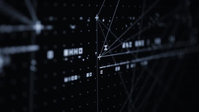 digital интерфейс - infographic стоковые видео и кадры b-roll