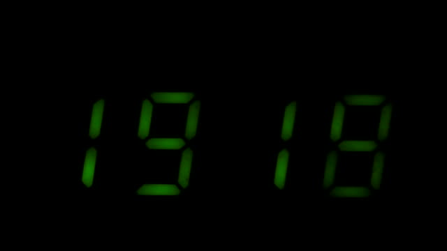 Digital led counter from nineteen video