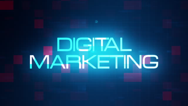 Digital Marketing word tag cloud text animation on modern futuristic digital technology blue and red grid background. 4K 3D rendering text concept for intro title, trailer, business presentation. Digital Marketing word tag cloud text animation on modern futuristic digital technology blue and red grid background. 4K 3D rendering text concept for intro title, trailer, business presentation. digital marketing stock videos & royalty-free footage