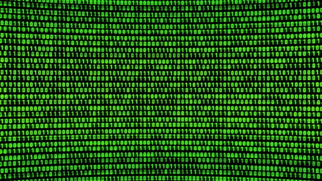 Digital Noise, HD Looping Background. video