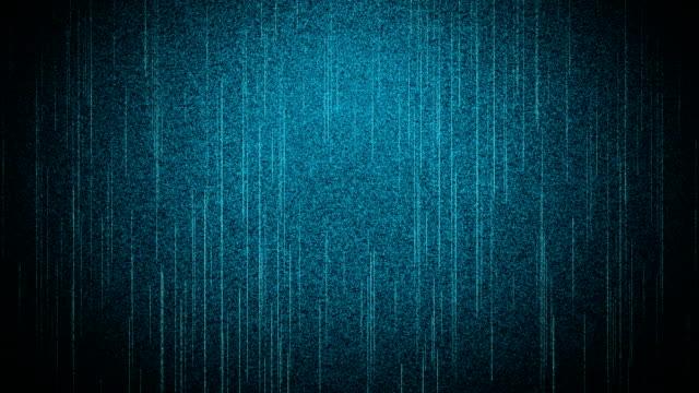 Bruit numérique sur l'écran - Vidéo