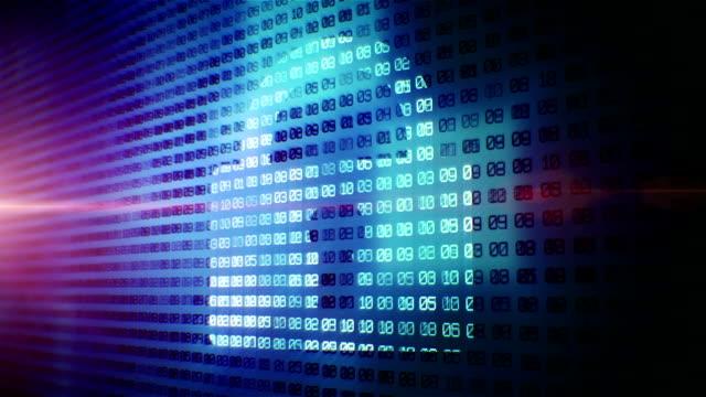 Digital padlock in cyber space video