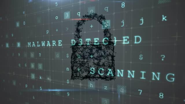 Digital padlock with security features 4k