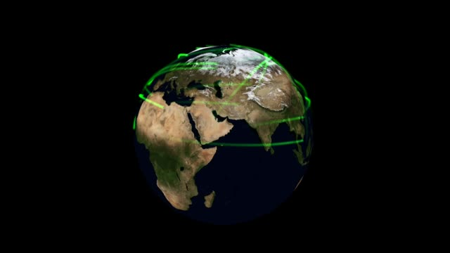 Digital Particle Animation of the Earth video