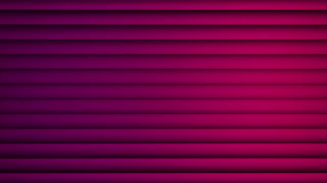 vídeos de stock e filmes b-roll de digital perfectly loop of abstract purple shade vertical lines moving background animation. vertical moving stripes 3d animation - vertical