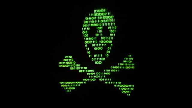 Digital piracy waving flag