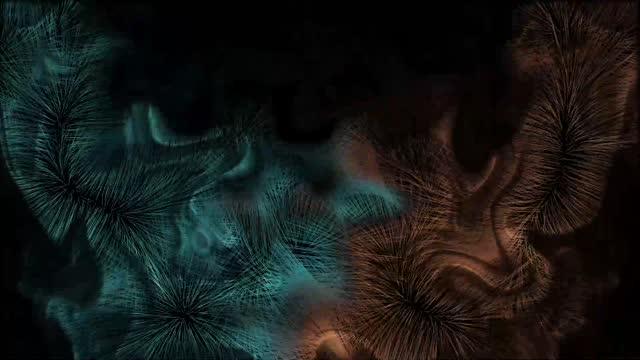 vídeos de stock e filmes b-roll de digital rendering artistic fun background - filosofia