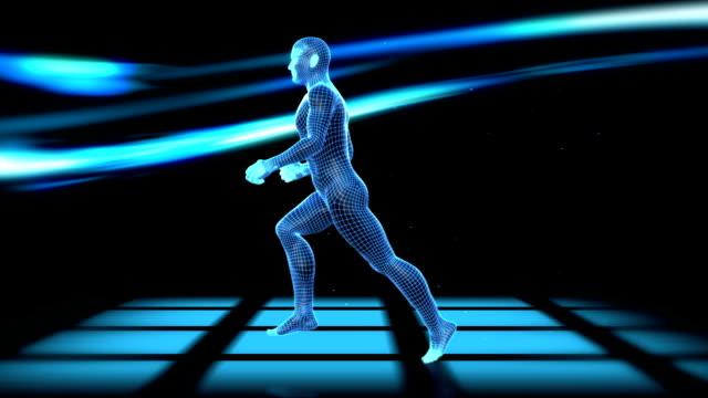 Digital Running Man