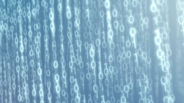 Digital Upstream - Binary Cloud Data Video Background Loop video