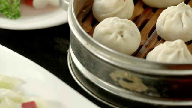 dim sum - chinese food stock videos and b-roll footage