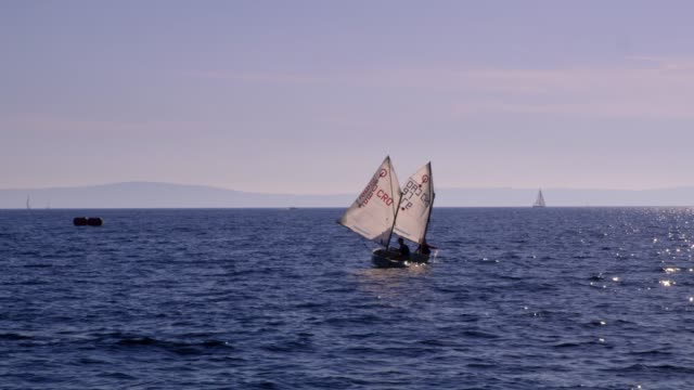Best Sailing Dinghy Stock Videos and Royalty-Free Footage