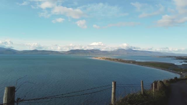 アイルランド、ケリーのリングのディングル湾 - 大西洋点の映像素材/bロール