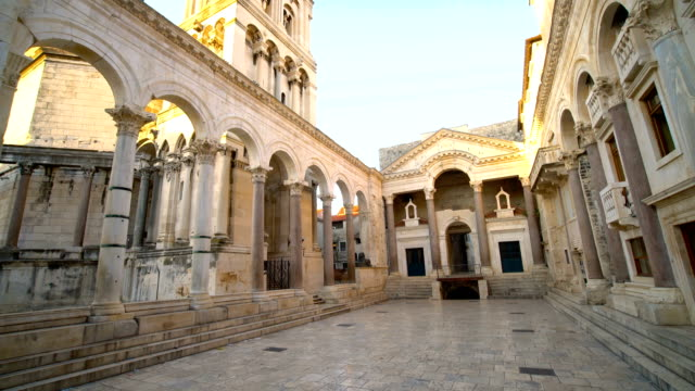 Diokletian Palast in Split, Kroatien – Video