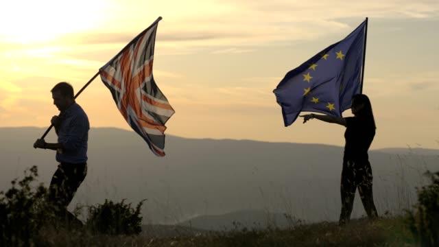 direktiv från europeiska unionen - brexit bildbanksvideor och videomaterial från bakom kulisserna