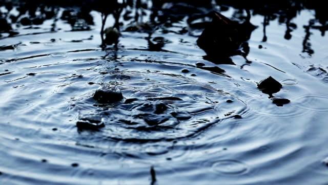 廃棄物の水を汚れ - 有害物質点の映像素材/bロール