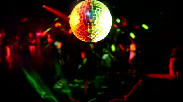 Disco Ball and Nightclub video