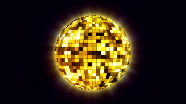 disco ball spinning - prom fashion stock videos and b-roll footage