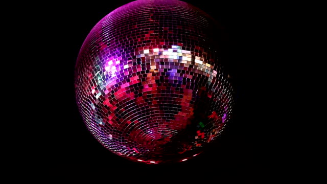 Disco ball video