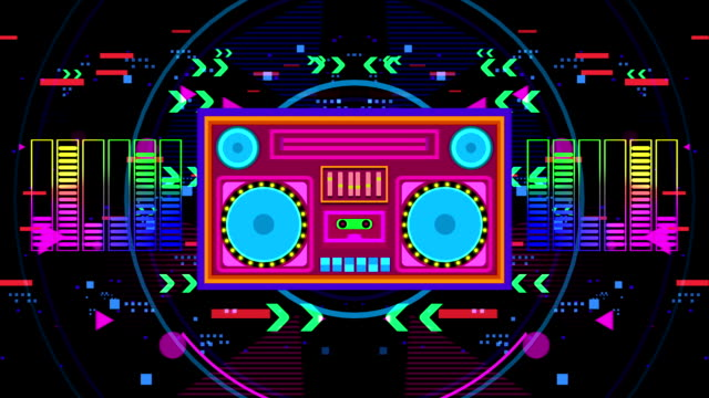 Disco Boombox party