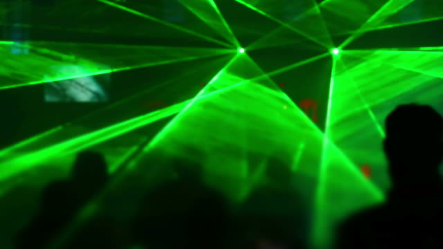 Disco Dancers In The Laser Light video