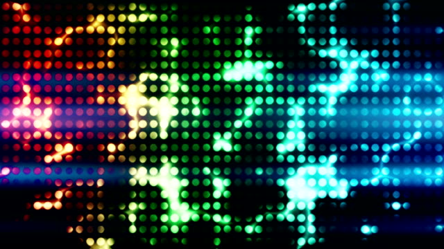 Disco light wall loopable background