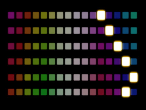 disco squares disco pattern of brightly coloured squares moving around grooved stock videos & royalty-free footage