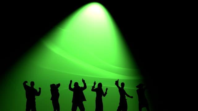 Disco time - green light video