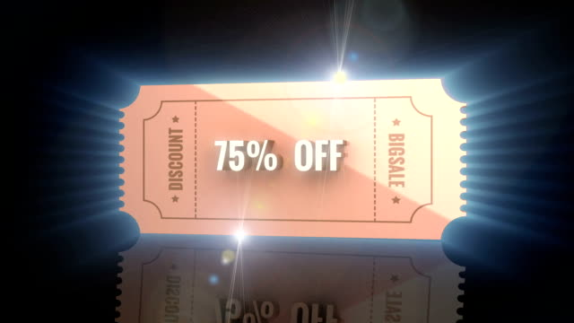Discount Coupon video