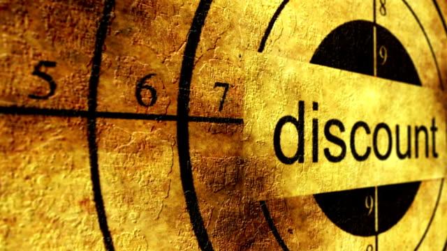 Discount grunge target concept video