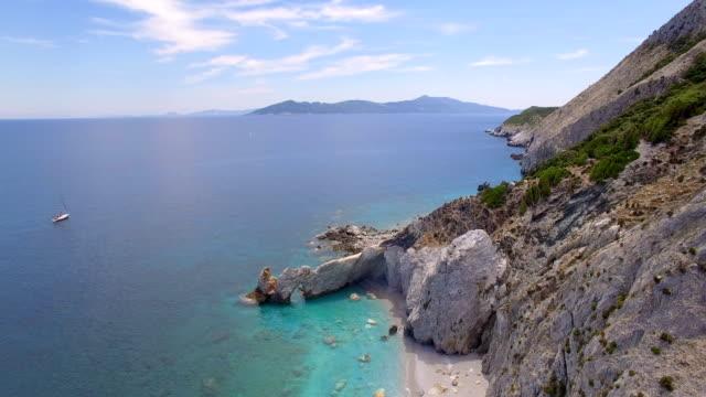 att upptäcka grekland - egeiska havet bildbanksvideor och videomaterial från bakom kulisserna