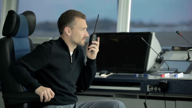 Dispatcher learns about incident in airport through portable radio video