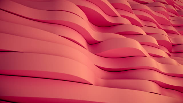 displaced rubber waves. - tridimensionale video stock e b–roll