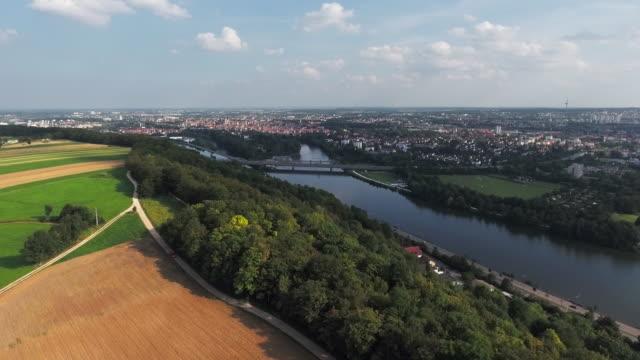 Distant View Of Regensburg In Bavaria video