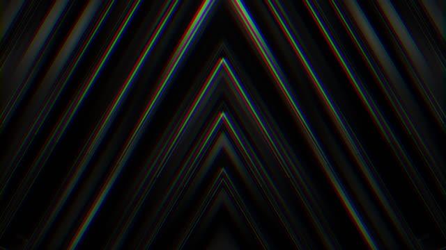 verzerrte chevron form textur hintergrundschleife - verzerrtes bild stock-videos und b-roll-filmmaterial