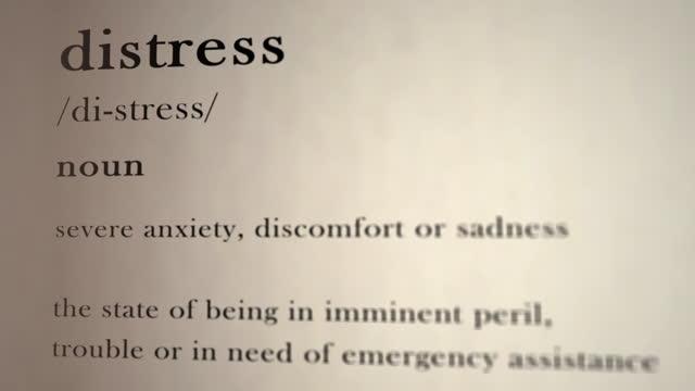 Distress Definition