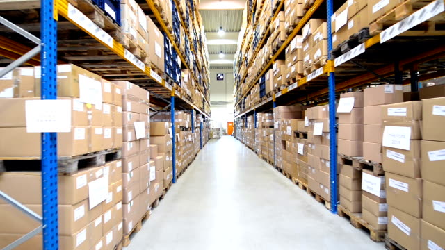 Distribution storage centre video