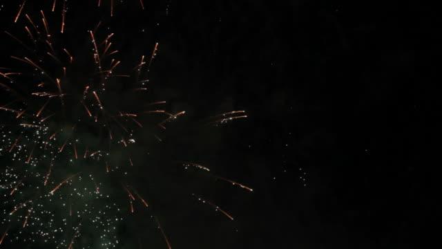 Vielfalt von Feuerwerk – Video